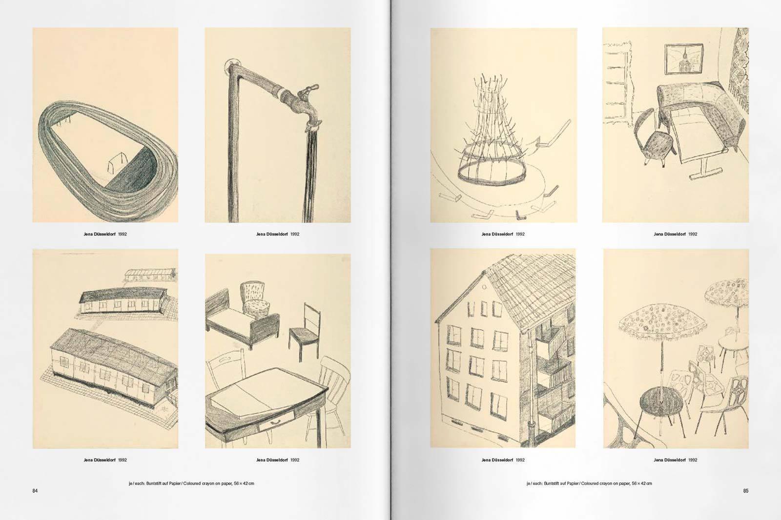 Faber Castell Zeichnung spread06