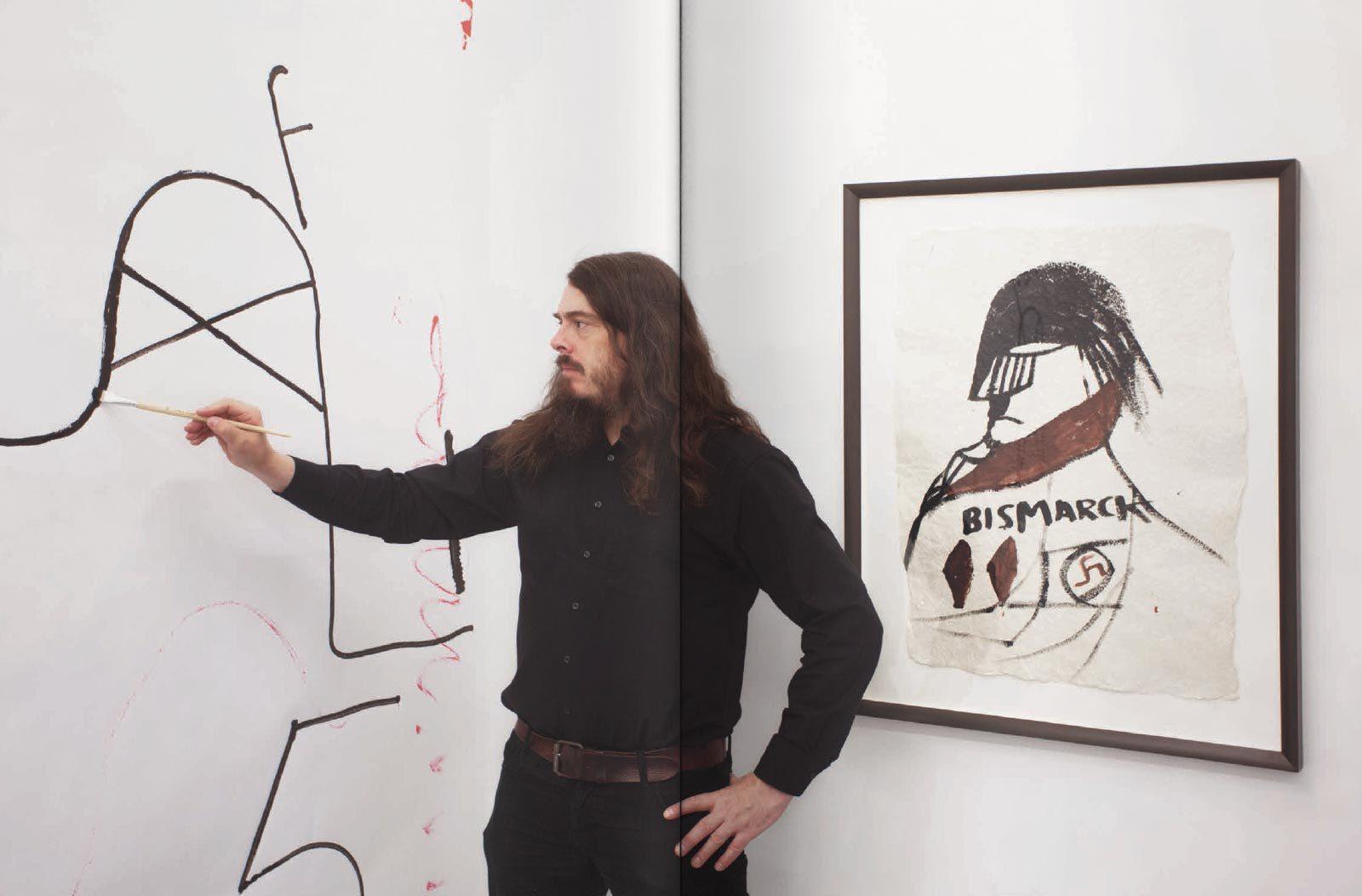 Meese Zeichnungen spread01