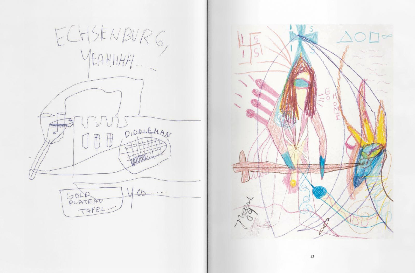 Meese Zeichnungen spread04