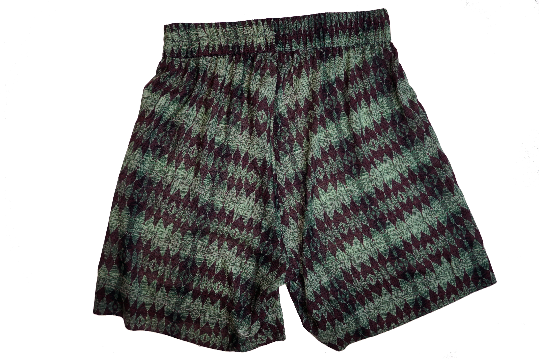 VFMK Afrika muster shorts kurz