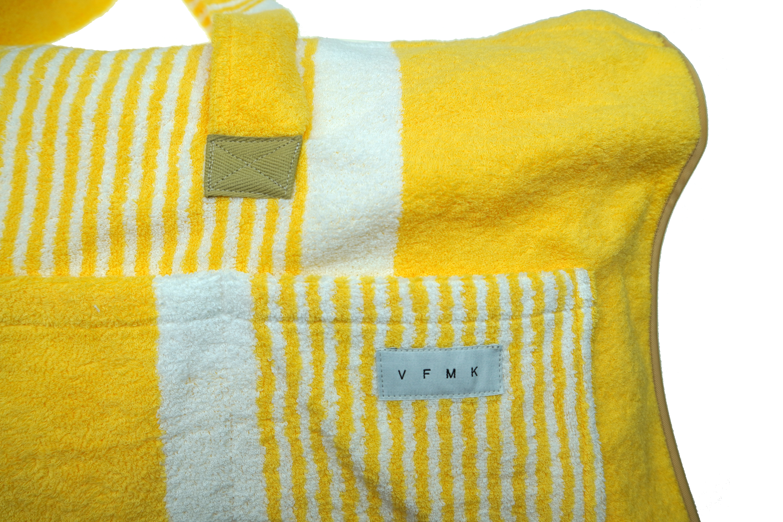 VFMK TOWEL BAG yellow ZOOM in