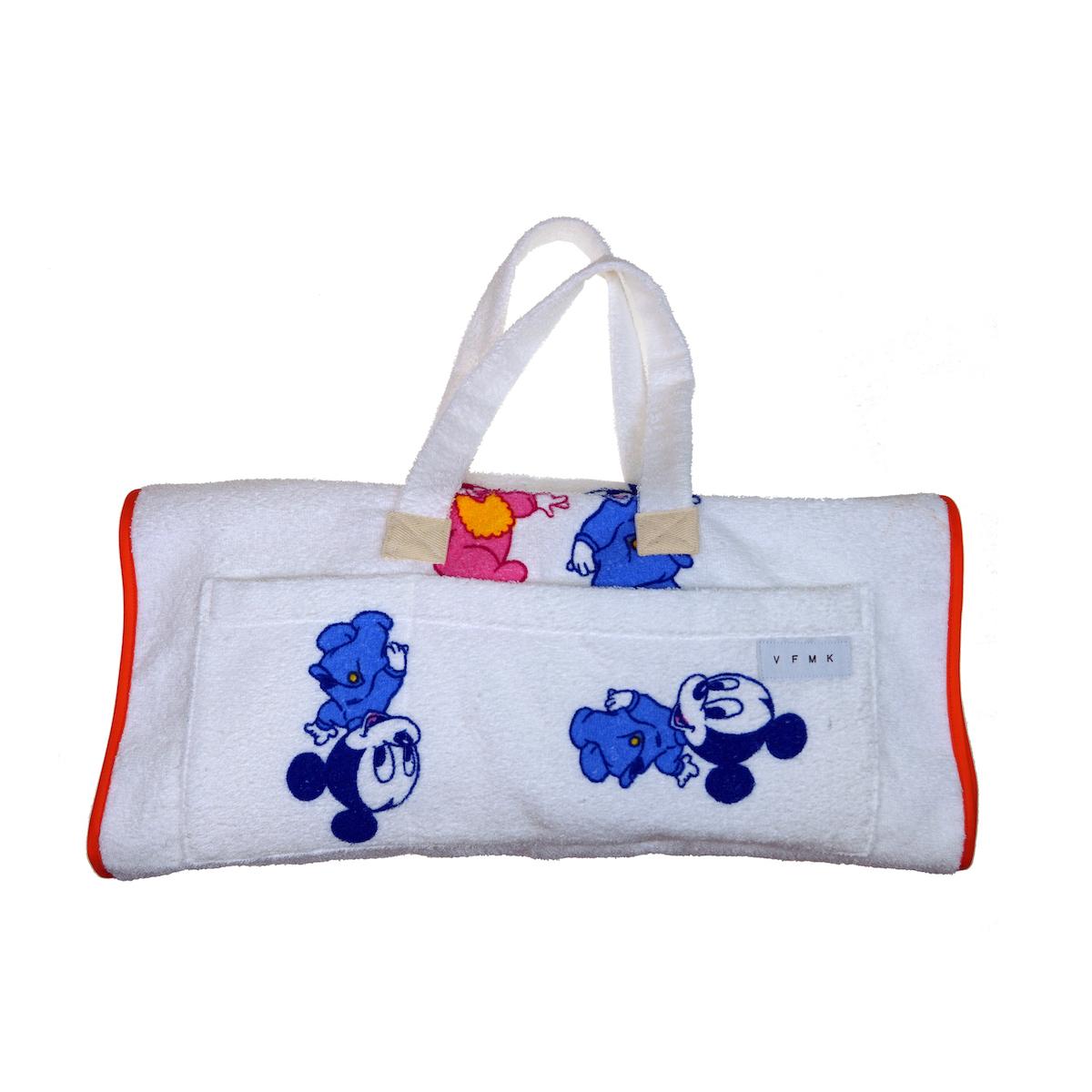 Kinder towel bag